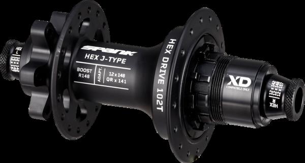 Spank HEX J-Type R148 Rear Hub