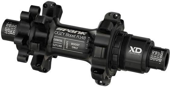 Spank Oozy Boost R148 XD Hub Color: Black