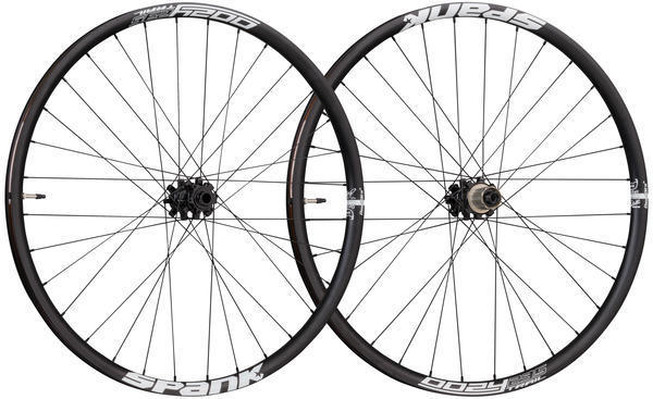 Spank Oozy Trail 295 27.5-inch Wheelset Color: Black