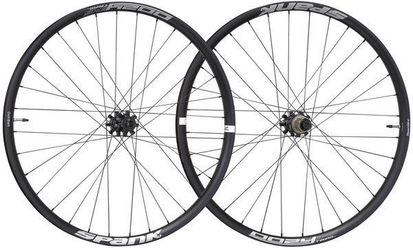Spank Oozy Trail 345 Wheelset Color: Black