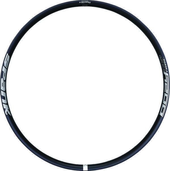 Spank Oozy Trail 395+ Rim Color: Black