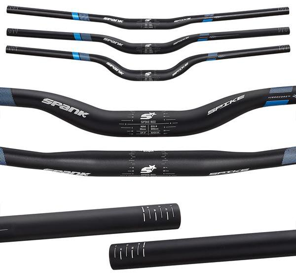 Spank Spike 800 Vibrocore Bar Color: Black/Blue