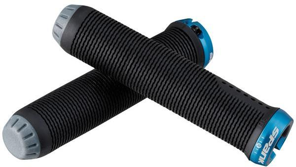 Spank Spike Grip 30 Color: Black/blue