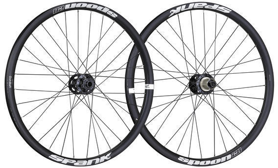 Spank Spoon 28 Wheelset Color: Black