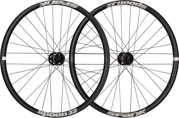 Spank Spoon 32 26-inch Wheelset Color: Black