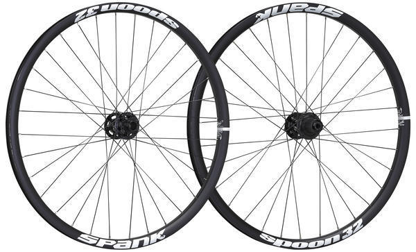 Spank Spoon 32 Wheelset Color: Black