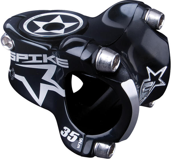Spank Spike Race Stem Color: Black
