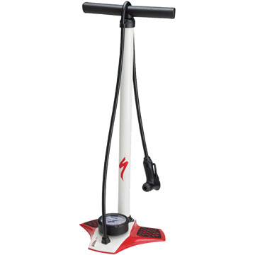 Specialized Airtool Comp Floor Pump Color: Red/White