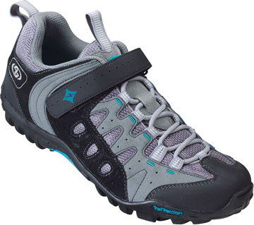 Specialized Women's Tahoe Shoes Color: Black/Gray/Blue