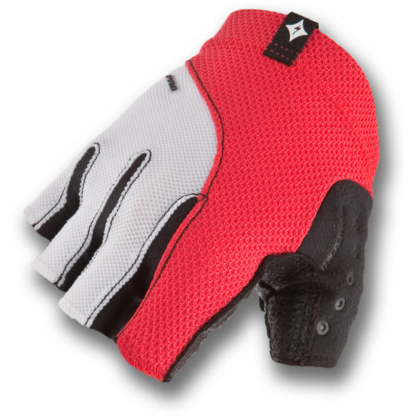 Specialized Women's BG Pro Gloves Color: Red/White