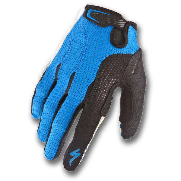 Specialized BG Gel Long-Finger Gloves Color: Blue