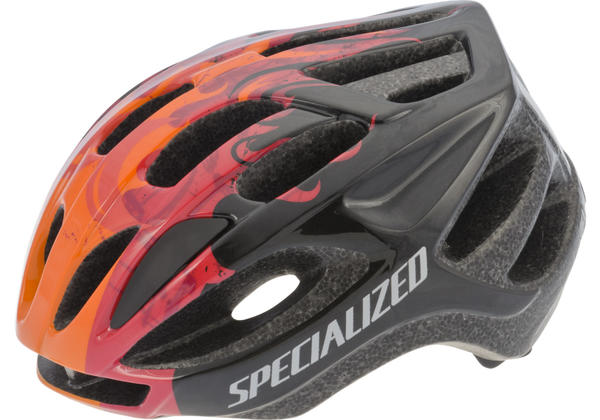 Specialized Boys Flash Color: Black Flames