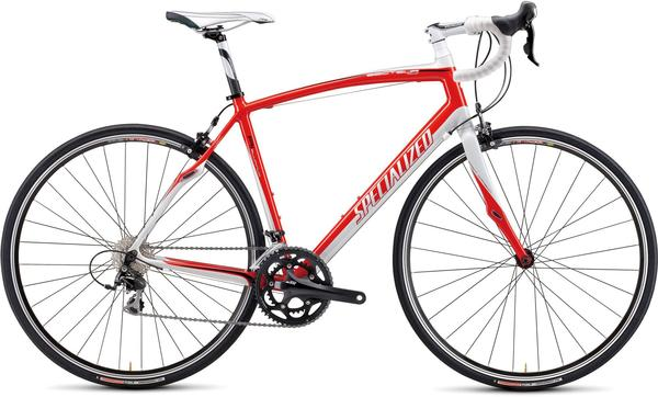Specialized Secteur Comp Compact Color: Red/White
