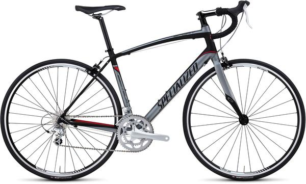 Specialized Secteur Sport Compact Color: Charcoal/Red