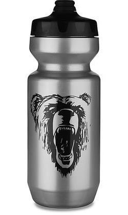 Specialized Purist Fixy Water Bottle Color: Silver/Black California Bear