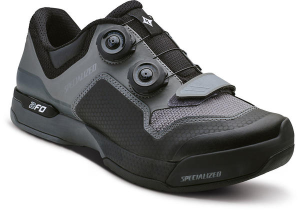 Specialized 2FO Cliplite Shoes - Women's Color: Black/Dark Grey