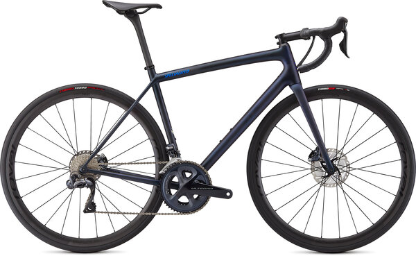 Specialized Aethos Pro Ultegra Di2 Color: Satin Blue Murano/Carbon/Cobalt