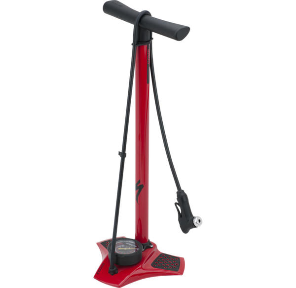 Specialized Air Tool Comp Floor Pump Color: Red
