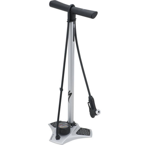 Specialized Air Tool HP Floor Pump Color: Silver