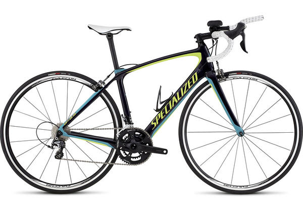 Specialized Alias Comp - Women's Color: Gloss Deep Indigo/Hyper Green/Turquoise