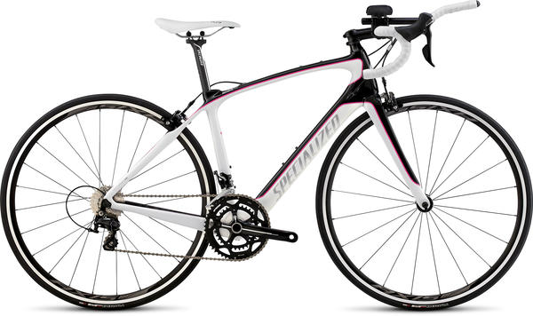 Specialized Alias Sport Tri - Women's Color: Gloss Carbon/White/Pink