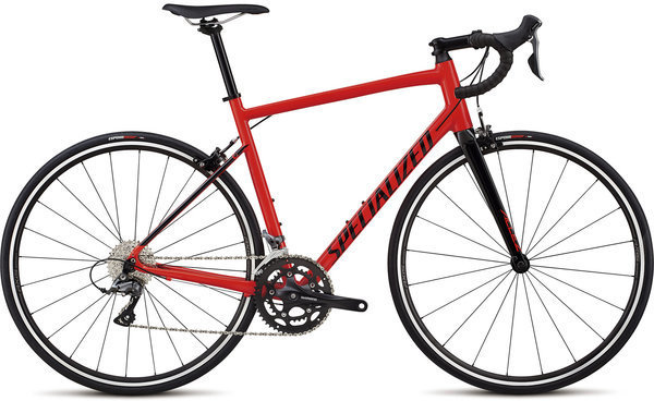 Specialized Allez Color: Gloss Rocket Red/Tarmac Black
