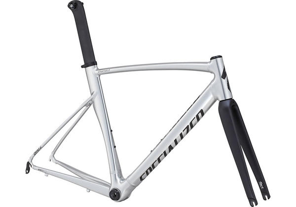 Specialized Allez DSW Sprint X1 Frameset Color: Silver Ano/Satin Black