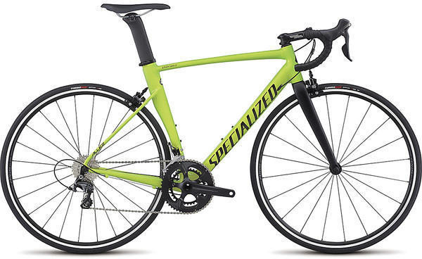 Specialized Allez DSW SL Sprint Expert Color: Gloss Monster Green/Team Yellow/Satin Black