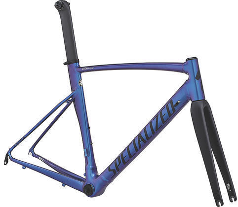 Specialized Allez DSW SL Sprint Frameset - Limited Edition I Color: Gloss Chameleon Purple/Satin Black