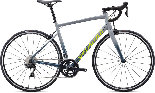 Specialized Allez E5 Elite Color: Gloss Cool Grey-Cast Battleship Fade/Slate Clean