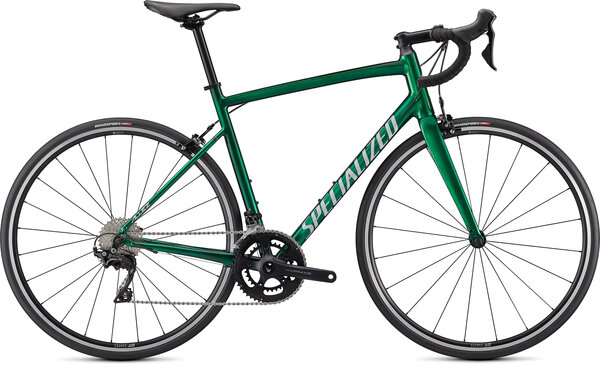 Specialized Allez Elite Color: Gloss Green Tint-Silver Base/Silver/Carbon