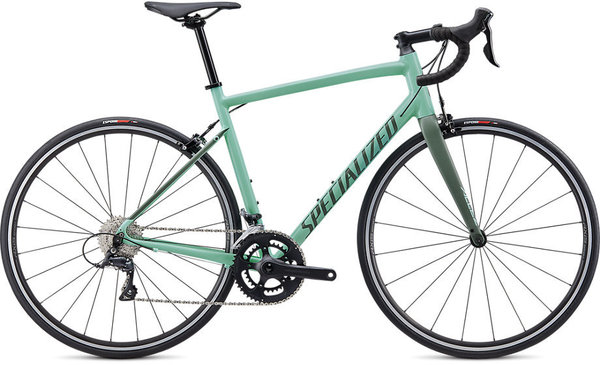 Specialized Allez Sport Color: Gloss/Satin Mint/Sage Green