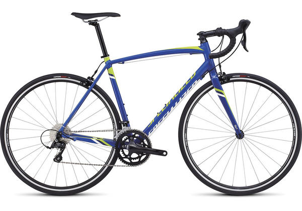 Specialized Allez E5 Sport Color: Gloss Blue/Hyper/White