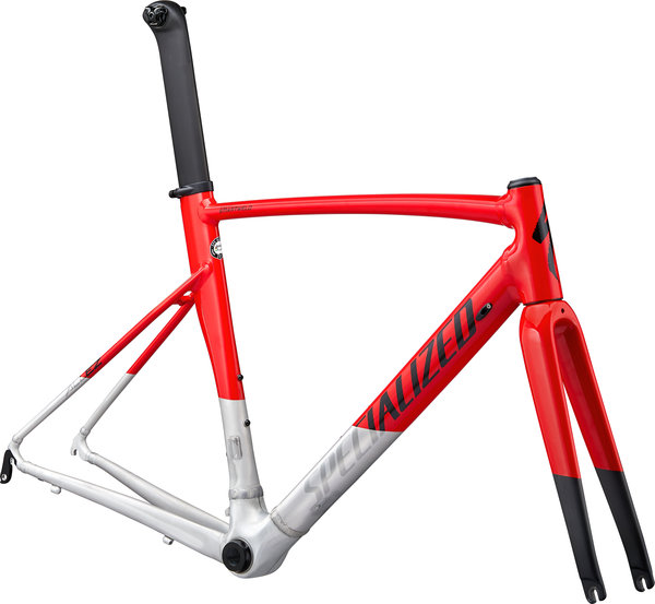 Specialized Allez Sprint Frameset Color: Gloss/Satin Flo Red/Brushed/Black
