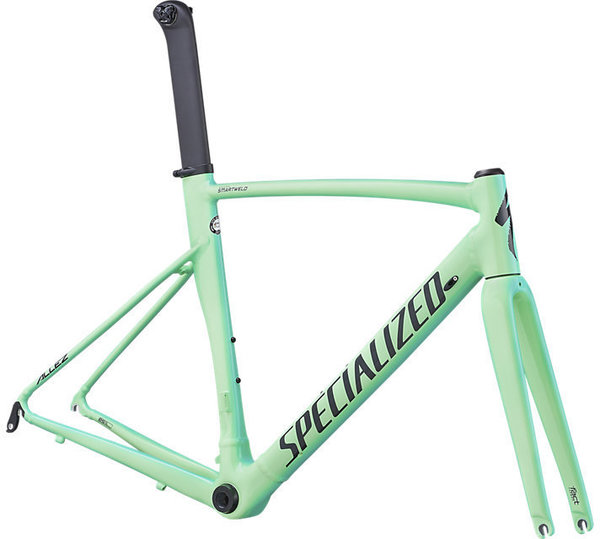 Specialized Allez Sprint Frameset Color: Gloss Acid Mint/Acid Kiwi/Black/Edge Fade/Clean