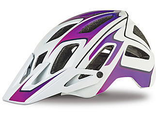 Specialized Ambush Color: Gloss White/Acid Pink Fade