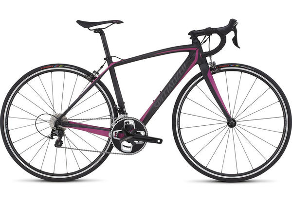 Specialized Amira Sport - Women's Color: Satin Carbon/Bright Pink/Charcoal