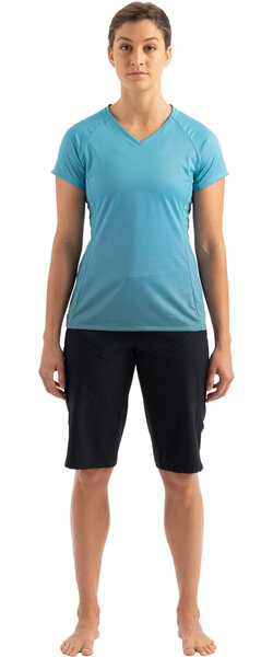 Specialized Andorra Air Short Sleeve Jersey Color: Aqua/Dusty Turquoise Fade