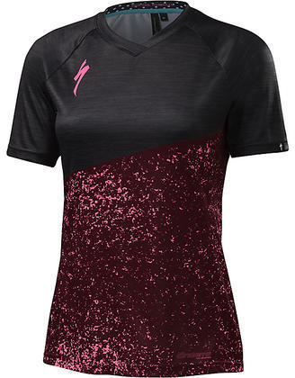 Specialized Women's Andorra Comp Jersey Color: Burgundy