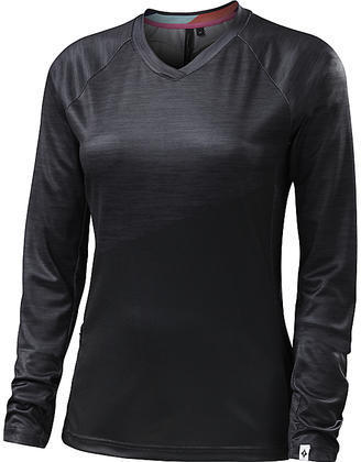 Specialized Andorra Comp Long Sleeve Jersey - Women's Color: Black