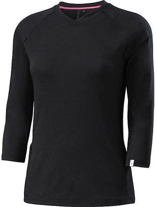 Specialized Andorra drirelease Merino 3/4 Jersey - Women's Color: Black Heather
