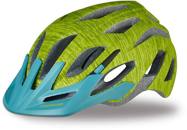 Specialized Andorra Helmet Color: Hyper Green/Turquoise