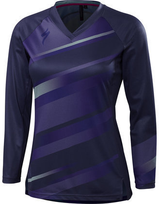 Specialized Andorra Long Sleeve Jersey Color: Deep Indigo