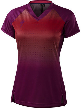 Specialized Andorra Short Sleeve Jersey Color: Berry