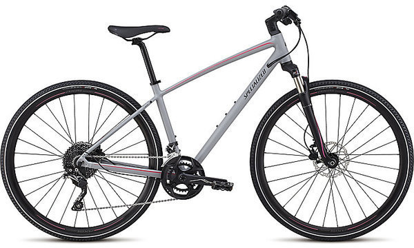 Specialized Ariel Elite Color: Cool Gray/Acid Pink/Tarmac Black Reflective