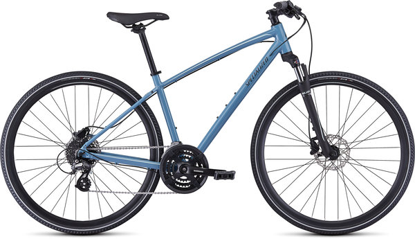 Specialized Ariel Hydraulic Disc Color: Gloss Storm Grey/Ice Blue