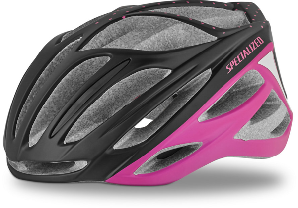 Specialized Aspire - Women's Color: Matte Black/Acid Pink Dots