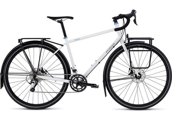 Specialized AWOL Elite Color: Dirty Reflective White/Satin Sterling/Blue Ano