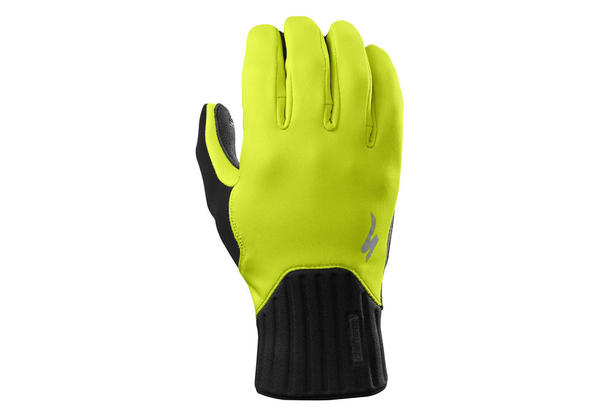 Specialized Deflect Gloves Color: Neon Yellow