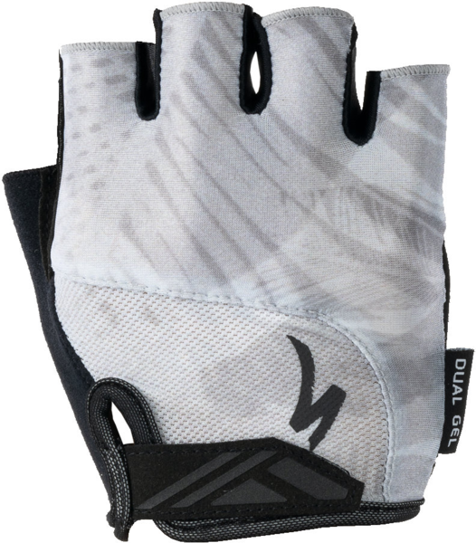 Specialized BG Dual Gel Glove Short Finger Color: Dove Grey Fern